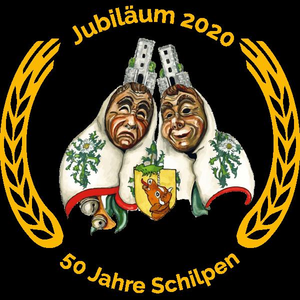Logo Schilpenzunft Buchheim Jubiläum 2020
